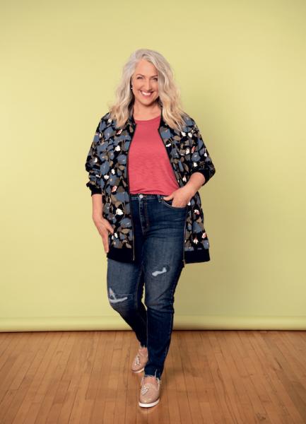 Mode avril le jean en toute simplicité